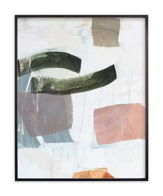 "Monuments 2 /  24.5"" X 30.5"" /Matte Black Frame - Minted"