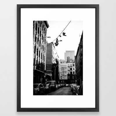 SoHo Framed Art Print, 20x26 - Society6