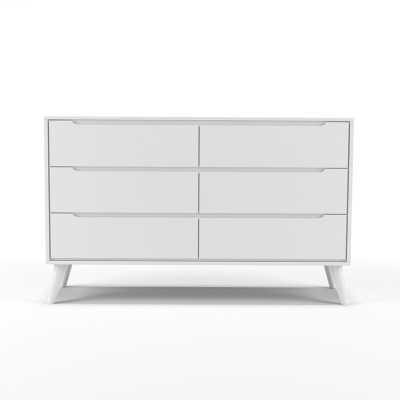 Ricardo 6 Drawer Double Dresser - Wayfair