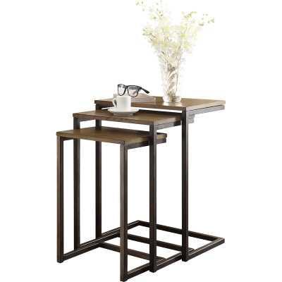 Vikki 3 Piece Nesting Tables - Wayfair