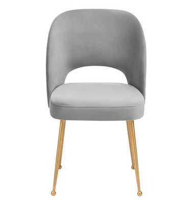 Alani Light Morgan Velvet Chair - Maren Home
