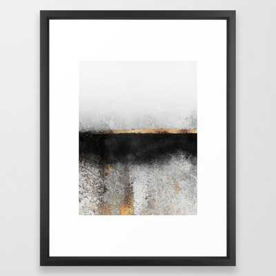 """Soot and Gold Framed, 20"""" x 26"""", Black Frame - Society6"""