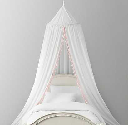 TASSEL VOILE BED CANOPY - RH Baby & Child