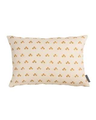 "NORAH GEO PRINT PILLOW COVER, 14"" x 20"", MUSTARD - McGee & Co."