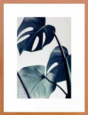 "Botanical Vibes II FRAMED ART PRINT CONSERVATION PECAN, 20"" X 26"" - Society6"