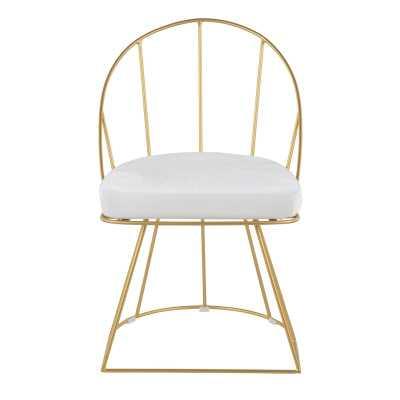 Campion Velvet Upholstered Windsor Back Side Chair - Set of 2 - Wayfair