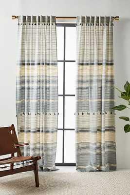 Woven Mariella Curtain - Anthropologie