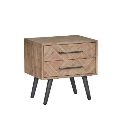 Lexy 2 Drawer Nightstand - Wayfair