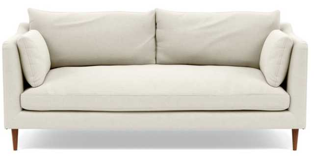 CAITLIN BY THE EVERYGIRL Fabric Sofa - Chalk - Interior Define