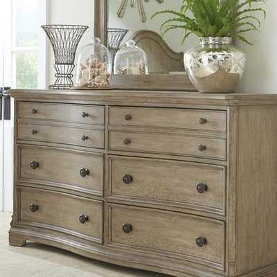 Paredes 6 Drawer Double Dresser - Wayfair