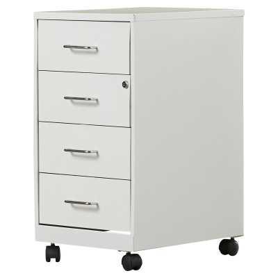 Bottorff 4 Drawer Steel Mobile File Cabinet - Wayfair