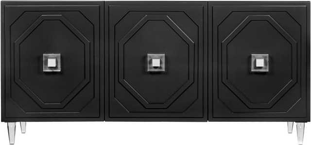 Nadia Black Lacquer Buffet - Maren Home