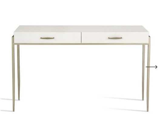 Allegra Console/Desk design by Interlude Home - Burke Decor