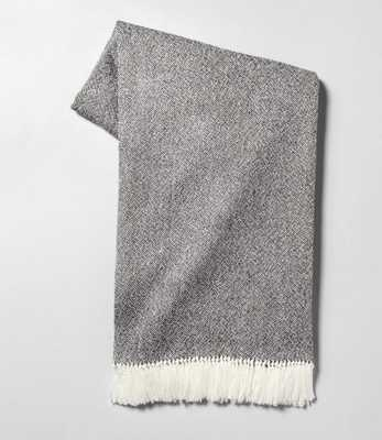 Throw Blanket Gray - Hearth & Hand™ with Magnolia - Target