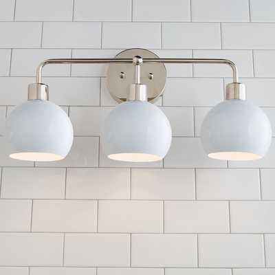 YOUNG HOUSE LOVE BUBBLE VANITY LIGHT - 3 LIGHT - Shades of Light