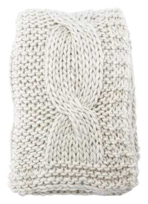 Forsan Chunky Knit Throw - Wayfair