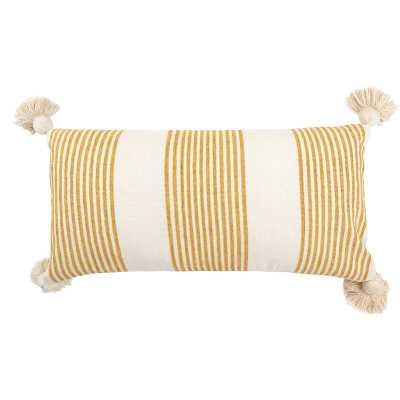 Mcpeters Lumbar Pillow - Mustard - Wayfair