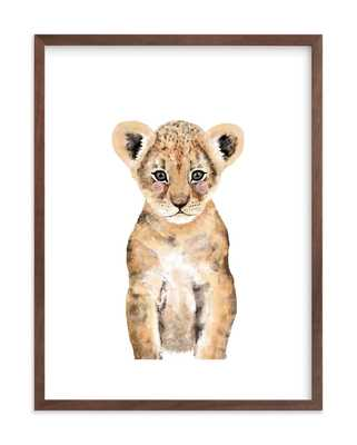 baby animal lion - Minted