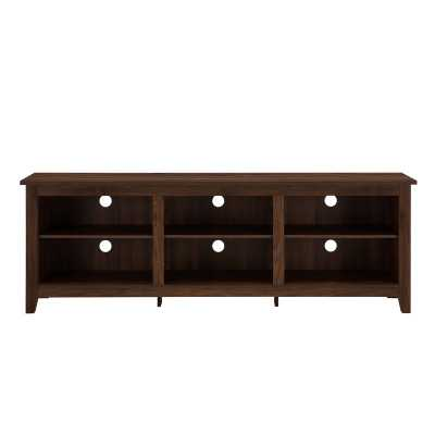 "Sunbury 70"" TV Stand - Dark Walnut - Wayfair"