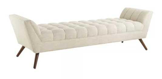 Fiske Upholstered Bench - AllModern