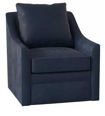 Quincy Swivel Armchair - Birch Lane