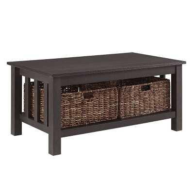 Denning Storage Coffee Table - Wayfair