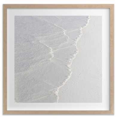White Water, 24x24, raw wood frame - Minted
