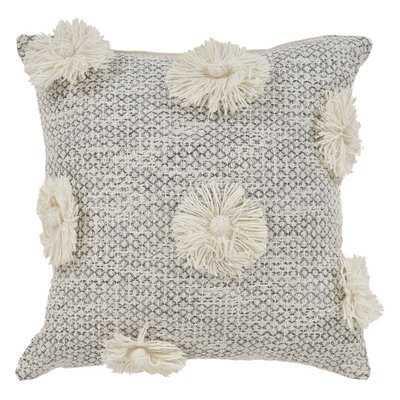 Claudette Cotton Throw Pillow - Wayfair
