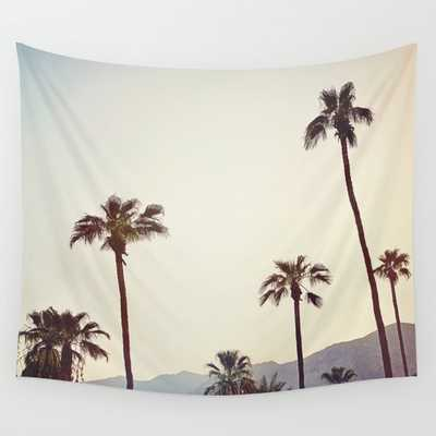 Palm Trees in the Desert Wall Tapestry - Society6