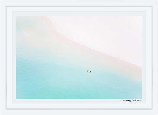 """The Honeymooners, 36""""x54"""", white frame - Gray Malin"""
