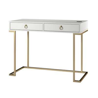 Filbert Writing Desk - White - Wayfair