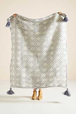 Textured Bobble Throw Blanket - Anthropologie
