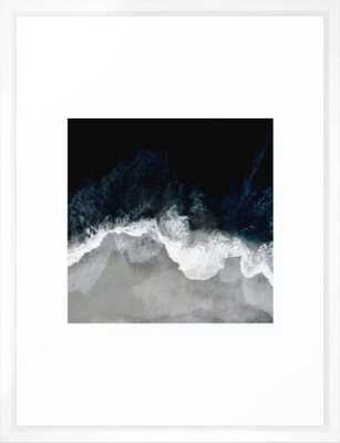 Blue Sea Framed Art Print - Society6