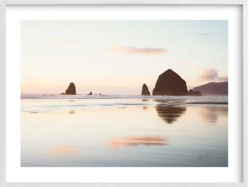 cannon beach no. 1 - framed art print, 40'' x 30'' - Minted