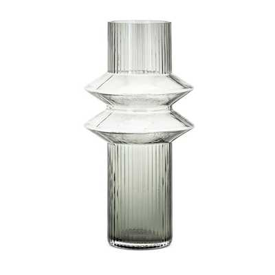 Azzair Large Glass Vase - Mercer Collection