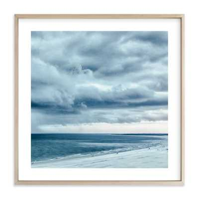 Blue Beach Storm - Minted