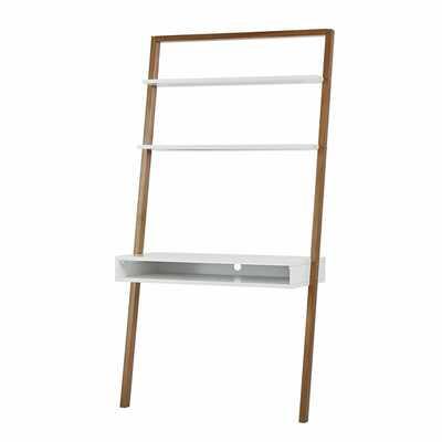 Theophanes Leaning/Ladder Desk - Wayfair