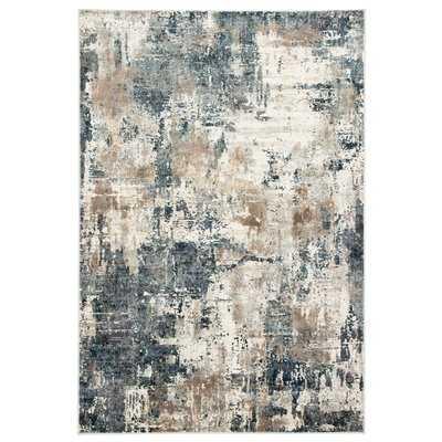 Ramsgate Abstract Blue/Gray Area Rug - Wayfair