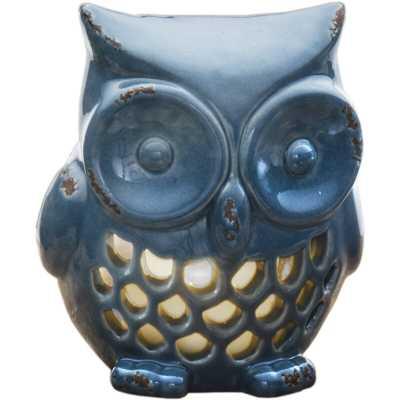 Owl Ceramic Tealight Holder - Wayfair
