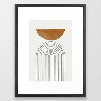 Minimalist Space Framed Art Print - Society6