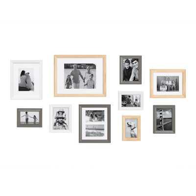 10 Piece Sturminster Gallery Picture Frame Set - Birch Lane