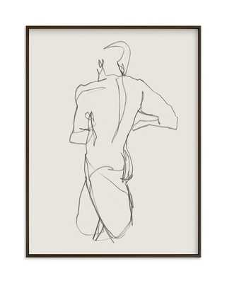 Standing Figure - 18x24 - Minted