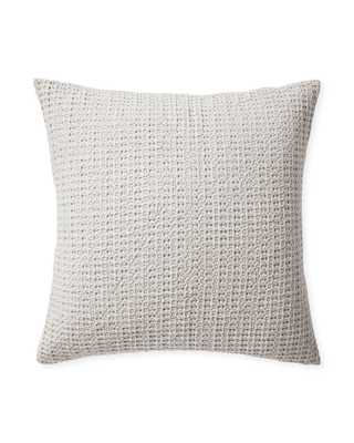 Montauk Euro Sham - Fog - Insert sold separately - Serena and Lily