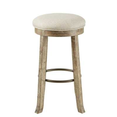 "Madiun 30"" Backless Swivel Bar Stool - Birch Lane"