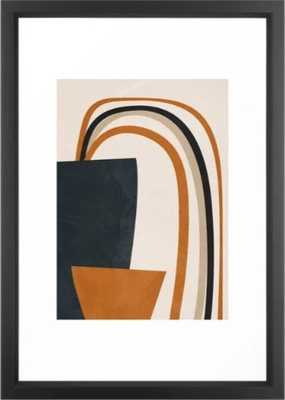 Abstract Art Rainbow Framed Art Print - Society6