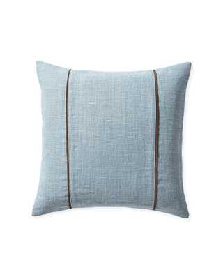 """Kentfield 20"""" SQ Pillow Cover - Coastal Blue - Insert sold separately - Serena and Lily"""