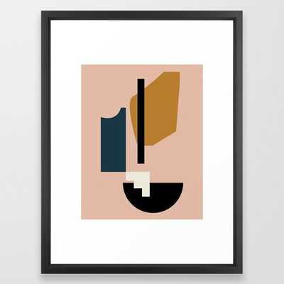 Shape study #2 - Lola Collection Framed Art Print - Society6