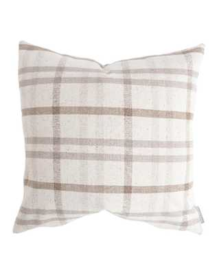 "DARCY PILLOW WITHOUT INSERT, 20"" x 20"" - McGee & Co."