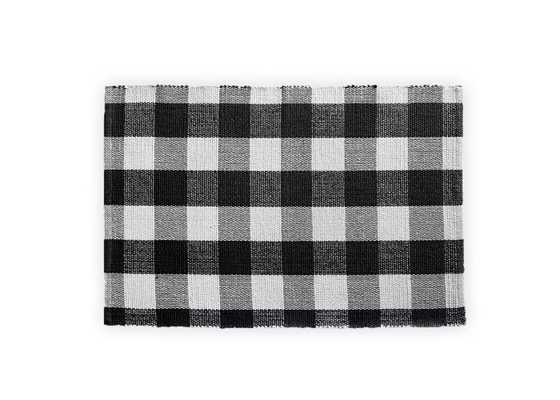 Farmhouse Living Buffalo Check Woven Kitchen Mat - Elrene Home Fashions - Target