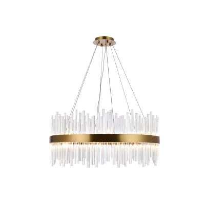 Perlo 18 - Light Unique / Statement Drum Chandelier - Wayfair